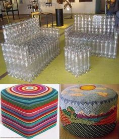 Looking for a really fun recycling DIY project! Recycling at its Finest: How to Build a Magnificent Milk Jug Igloo, Creative and easy project to entertain kids. Reuse Plastic Bottles, Plastic Bottle Crafts, Diy Bottle, Recycled Bottles, Garrafa Diy, Unicorn Wall Art, Reuse Recycle, Recycled Crafts, Recycled Materials