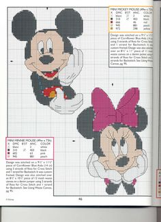 Mickey Collection~pg 46 Mini Mickie and Minnie