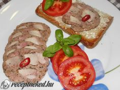 Pulyka felvágott házilag Sausage, French Toast, Mexican, Meat, Breakfast, Ethnic Recipes, Food, Morning Coffee, Sausages