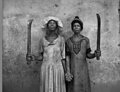 Happy Mother's Day, Africa, 1970s -- Roger Ballen, Photographer