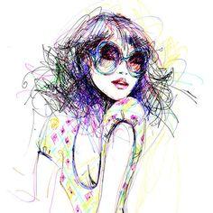 Antoinette Fleur illustration