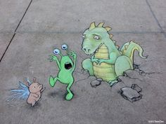 here_be_dragons_by_david_zinn                                                                                                                                                                                 More