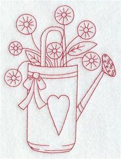 Machine Embroidery Designs at Embroidery Library! - Farm and Country (Redwork and Vintage)