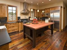 kitchen design unique island designs rustic bases laminate flooring ideas black top