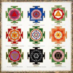 Yantra Chart Mandala