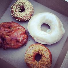 """Doughnuts from """"Dough by Rachelle"""", by @OrchardBloom 