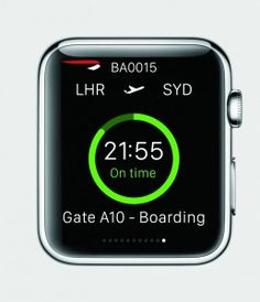 British Airways is set to be one of the first companies to have a specially developed app on the new Apple Watch when it launches on April 24, 2015.