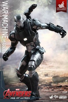 [Avengers Age Of Ultron] Hot Toys 1/6 WAR MACHINE Mark II: No.11 Big Size Official Images, FULL Info http://www.gunjap.net/site/?p=239425