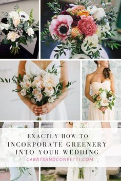 Exactly How To Incorporate Pantone's Greenery Into Your Wedding Day – carats & confetti