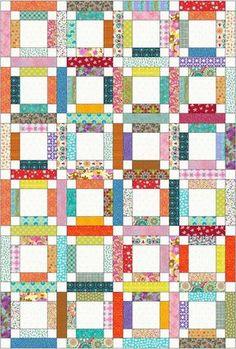 Instant Pattern - PDF - Simple Quilt - Lap Quilt - Quilt Pattern - Pattern Quilt - Instant Download Pattern - Scrappy Block
