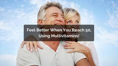 Feel Better when you reach 50 by using Best Mutivitamins For Men & Womens. Natural Fat Burning Supplements, Weight Loss Supplements, Best Multivitamin For Men, Fat Burning Pills, Herbal Weight Loss, Raspberry Ketones, Feel Better, Vitamins, Wellness