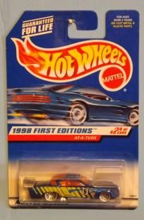 Hot Wheels Die Cast AT-A-Tude/1998 First Editions **Free Shipping