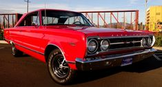 Here is one beautiful 1967 Plymouth Satellite for the classic Mopar fans. Super clean B-body, fresh premium Black interior and healthy 383 backed by automatic transmission!