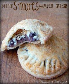 Mini S'mores hand pies!