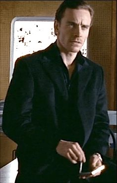 "Michael Fassbender  as Caz Miller in  ""Murphy's Law"",  BBC television drama (2005)"
