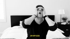 that moment you find out you and Connor Franta have the same birthday.........