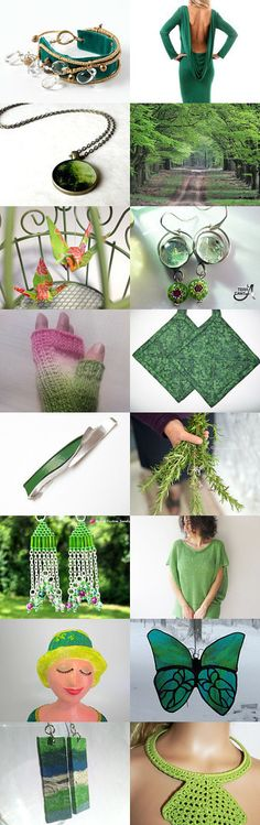 Green by EnchantedCrayons on Etsy--Pinned with TreasuryPin.com