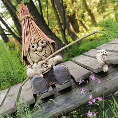 Garden Sculpture, Pottery, Outdoor Decor, Illustrations, Ceramica, Pottery Marks, Ceramic Pottery, Pots, Ceramic Art