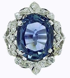 Antique sapphire ring