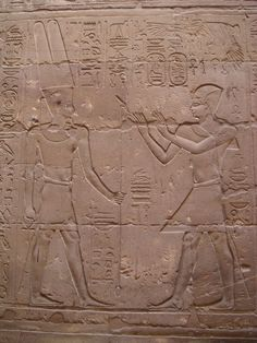 Alexander the Great depicted as a Pharaoh praying to Amun - Ancient Egyptian relief at Luxor Temple x Amon, Ancient Egypt, Ancient History, Alexandre Le Grand, Carnal, Luxor Temple, The Doors Of Perception, Penny Dreadful, Alexander The Great
