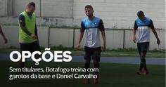 BotafogoDePrimeira: Sem titulares, Botafogo treina com garotos da base...