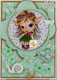 Anet's Crafting Blog: The Baby Elf - Julia Spiri New Release