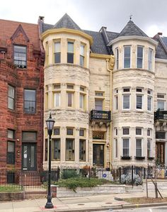 Victorian rowhouse in Reservoir Hill.