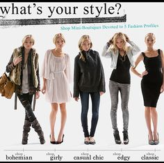 What's your #style - Think I have a lil bit of all 'em!