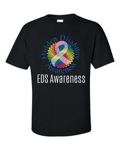 Hidden Disability Awareness Ribbon EDS Awareness