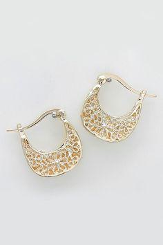 Amberly Earrings in Gold