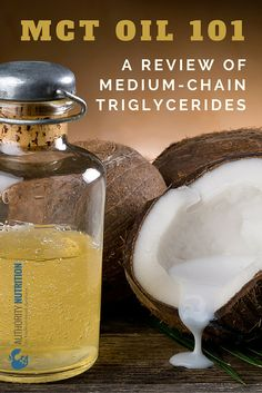 Supplementing with MCT oil is a popular way to cause fat loss and increase energy levels. MCT stands for medium-chain triglyceride. Easy Healthy Dinners, Healthy Dinner Recipes, Healthy Options, Ketogenic Supplements, Lchf Diet, Ketogenic Diet, Healthy Oils, Healthy Food, Easy Vegetarian Lunch