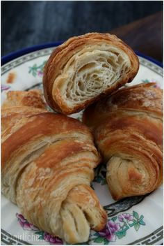 Flaky, buttery, magical Croissants by @girlichef