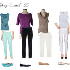 Very casual SC. Soft Classic Kibbe, Classic Style, Style Me, Capsule Wardrobe Women, Fashion Capsule, Classic Wardrobe, Classic Outfits, Classic Clothes, Over 50 Womens Fashion