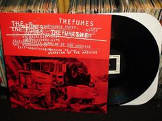The Fumes - Self-Appointed Guardian Of The Machine LP, Empty Records 1996 (punk vinyl record) Pochette Album, More Pictures, Vinyl Records, Lp, Empty, The Originals, Punk, Graphic Design, Punk Rock