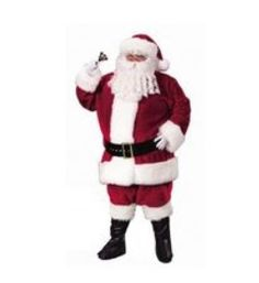 XXL Crimson Regency Plush Santa Claus Suit - Candy Apple Costumes - Browse All Plus Size Costumes Christmas Suit, Christmas Fancy Dress, Father Christmas, Christmas Parties, Santa Christmas, Christmas Central, Christmas Morning, Christmas Decor, Christmas Holidays