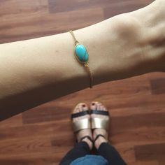 Delicate turquoise bracelet by ATELIER Gaby Marcos