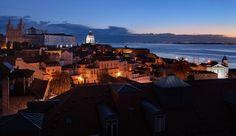 Lisbon view from Hotel Belmonte