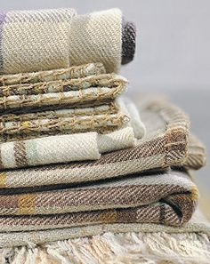 welsh blankets, via baileys home & garden