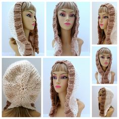 Ravelry: Snowfall Winter Hat with 2 Different Bands and 6 Different Styles by Grace Rose