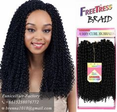 Find More Bulk Hair Information about 3pcs per lots Freetress Premium Synthetic Hair  freetress braid deep wave crochet goddess locs synthetic hair bundles jerry curl,High Quality freetress braid,China synthetic hair bundles Suppliers, Cheap synthetic hair from Brenna's Hair Shop on Aliexpress.com