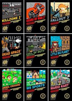 Modern games remained as retro NES have cartridges #nintendo #retro