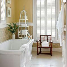 Nashville Idea House Photo Tour | The Guest Bath | SouthernLiving.com
