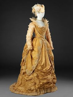 Fancy Dress Costume Early 1870s The John Bright Collection