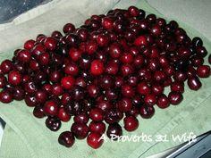 How to Freeze Bing Cherries