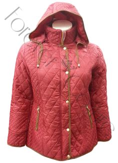 Wine Parka Jacket with Hood Product Code: 709 Pack of 4 PiecesWas £23.50  Now £18.00 per Piece VAT: 0%  FC