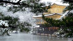 Kinkaku-ji Temple, Kyoto Japan. Photo by Michael Chandler