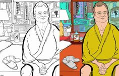 14 Pop Culture Coloring Books for Adults