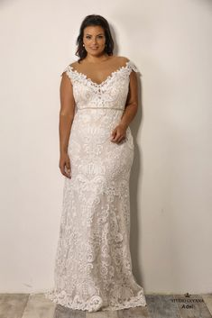 54aee7464dc Adel - Studio Levana Size 18 Wedding Dress