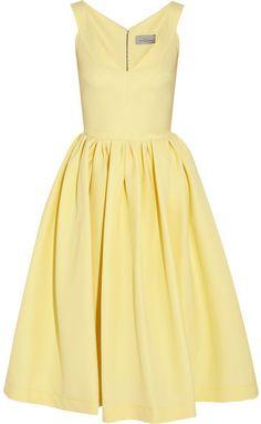 Preen by Thornton Bregazzi Flo stretch-crepe dress