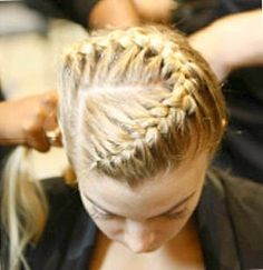 Love the angular part with the braid